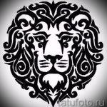 эскизы тату льва на ноге - рисунки для татуировки от 29042916 16