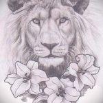 эскизы тату льва на руке - рисунки для татуировки от 29042916 2