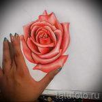 эскизы тату розы цветные - смотреть прикольную картинку 18