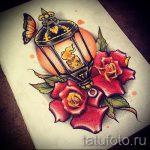 эскизы тату розы цветные - смотреть прикольную картинку 19