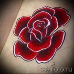эскизы тату розы цветные - смотреть прикольную картинку 9