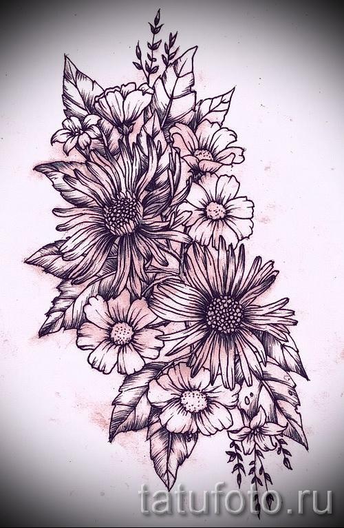 Цветы значение татуировок