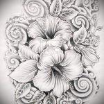 эскизы цветов для тату - рисунки от 26-04-2016 1