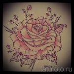 эскизы цветов для тату - рисунки от 26-04-2016 2