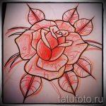 эскизы цветов для тату - рисунки от 26-04-2016 6