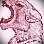 эскиз тату голова льва - рисунки для татуировки от 29042916 3