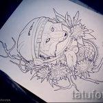 эскиз тату лиса - смотреть картинки от 25-04-2016 7