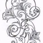 эскиз тату на запястье цветы - рисунки от 26-04-2016 2