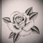 эскиз тату розы на руку - смотреть прикольную картинку 1