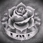 эскиз тату розы на руку - смотреть прикольную картинку 12