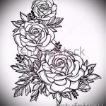 эскиз тату розы на руку - смотреть прикольную картинку 6