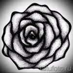 эскиз тату розы на руку - смотреть прикольную картинку 9