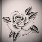 эскиз тату цветы на руку - рисунки от 26-04-2016 4