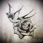 эскиз тату цветы на руку - рисунки от 26-04-2016 5