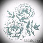 эскиз тату цветы на руку - рисунки от 26-04-2016 7