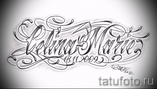 Татуировки в стиле Чикано ТриТатушки