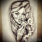 эскиз чикано татуировки 13
