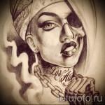 эскиз чикано татуировки 3