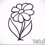 Blume Tattoo-Designs für Mädchen - Bilder aus 26-04-2016 4