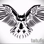 Eule Tattoo Skizzen amerikanische 10