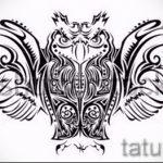 Eule Tattoo Skizzen amerikanische 7