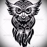 Eule Tattoo Skizzen amerikanische 9