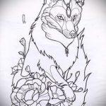 Fuchs Tätowierung auf der Hand skizziert - siehe Bilder 25,04-2.016 1