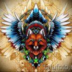 Fuchs Tattoo farbigen Skizzen - siehe Bilder 25,04-2.016 7