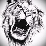 Löwe Tattoo-Designs Realismus - Bilder für Tätowierungen von 29042916 2