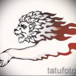Löwe Tattoo-Designs auf dem Unterarm - Bilder für Tätowierungen von 29042916 1