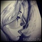 Skizze der Tattoo-Chicano Mädchen 4