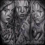 Skizze der Tattoo-Chicano Mädchen 9