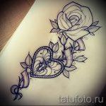 Skizze der Tattoo-Farben auf den Oberschenkel - Zeichnungen von 26-04-2016 2
