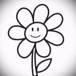 Skizze einer Tätowierung am Handgelenk Blumen - Bilder auf 26-04-2016 4