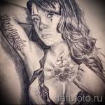 Skizze von Chicano Männer Tattoo 8