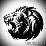 Skizzen eines Löwen-Tattoo auf der Hand - Zeichnungen für Tätowierungen von 29042916 2