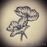Tatouage croquis de fleurs - dessins de 26-04-2016 1