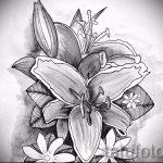 Tattoo Blume Skizzen - Zeichnungen von 26-04-2016 1