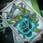 Tattoo Blumen Aquarellskizzen - Zeichnungen von 26-04-2016 1