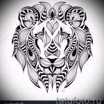 Tattoo-Designs Löwe Grinsen auf seine Schulter - Bilder für Tätowierungen von 29042916 1