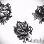 black rose tattoo sketch - look cool wallpaper 1