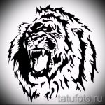 conceptions de tatouage de lion sur le mollet - images pour les tatouages de 29042916 1