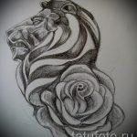 croquis de Lion pour les tatouages - dessins pour les tatouages de 29042916 1