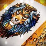 croquis de Lion pour les tatouages - dessins pour les tatouages de 29042916 5