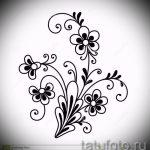 croquis de couleurs de tatouage sur la cuisse - dessins de 26-04-2016 2