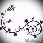 croquis de couleurs de tatouage sur la cuisse - dessins de 26-04-2016 4