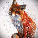 croquis de tatouage fox - voir photos 25.04-2016 4