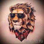 croquis d'un tatouage de lion sur sa jambe - les dessins pour les tatouages de 29042916 5