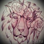 croquis d'un tatouage de lion sur sa main - dessins pour les tatouages de 29042916 2
