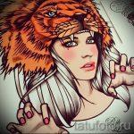 croquis d'un tatouage de tête de lion - images pour les tatouages de 29042916 2